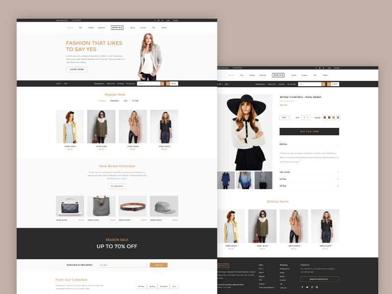 Gabooo - Fashion eCommerce Theme