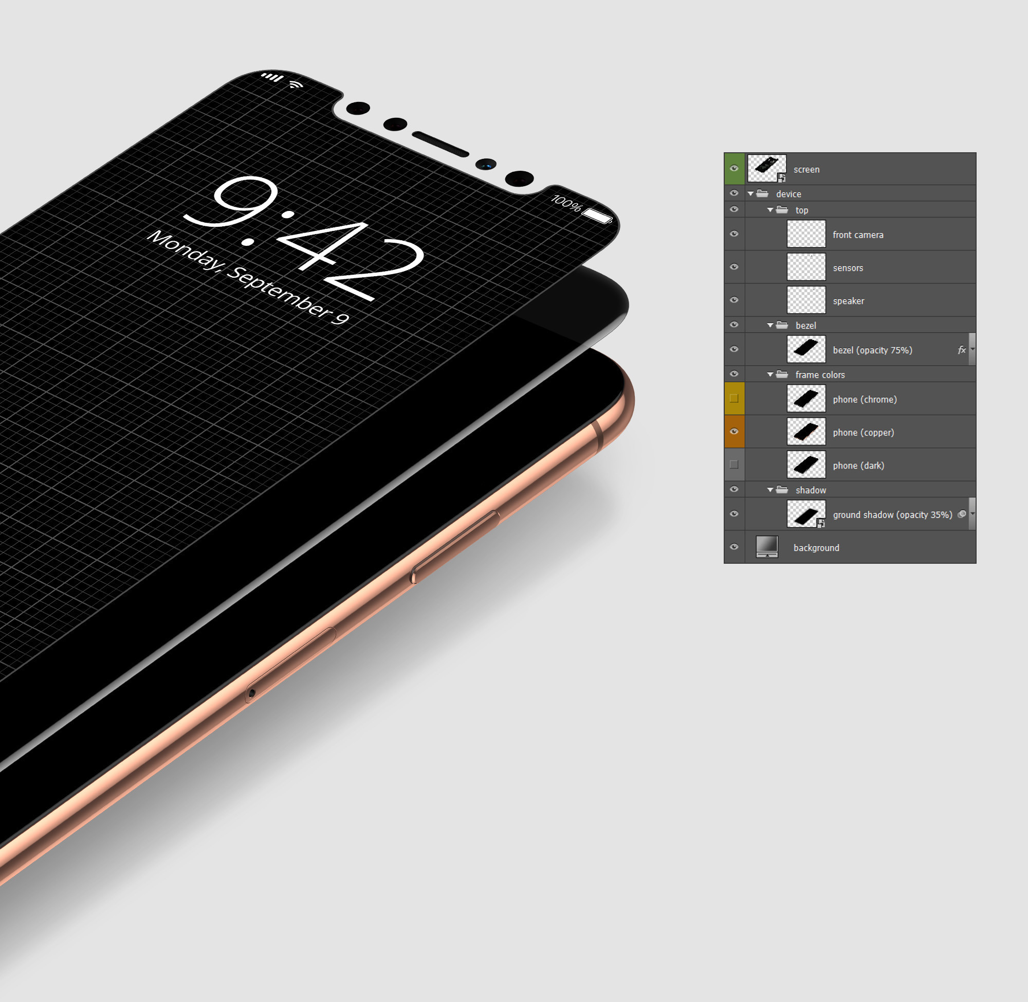 iPhone X Mockup Pack
