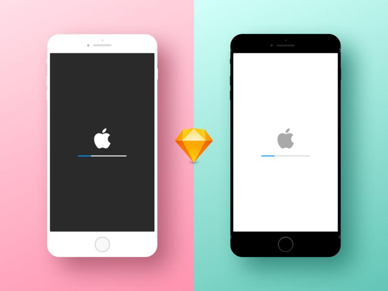 Minimal iPhone Device Mockup