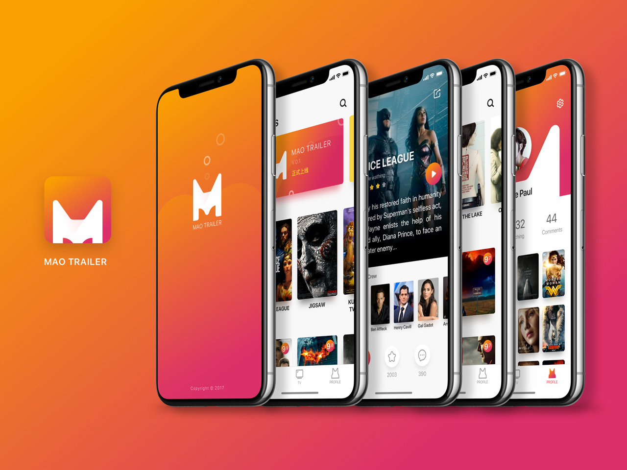 Movies app UI Kit