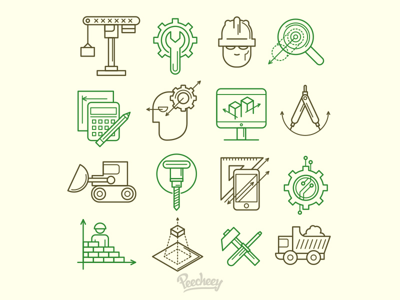 Engineering Icons preview picture