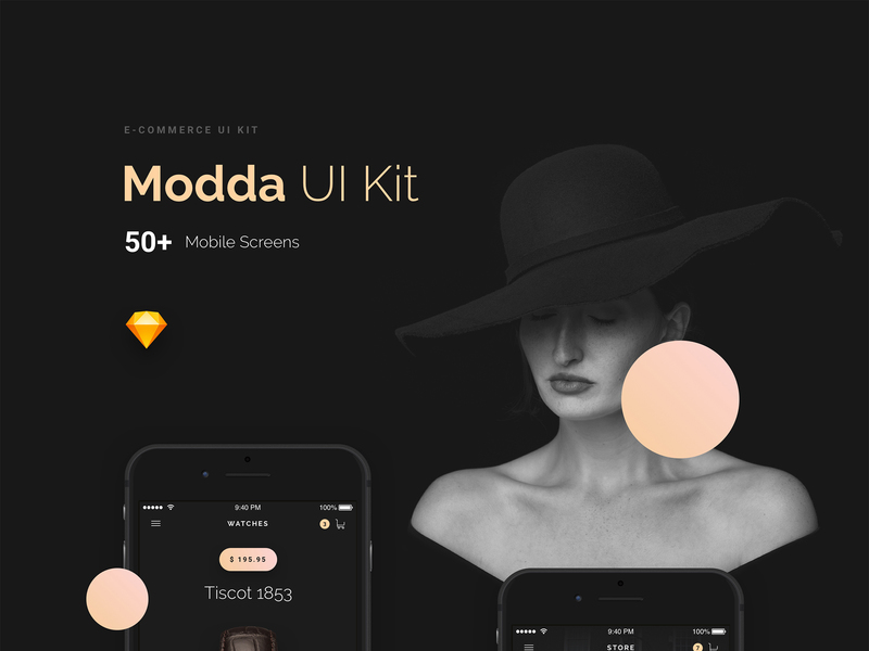 Modda E-commerce UI Kit preview picture