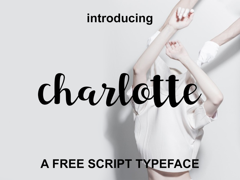 Charlotte - Free Font preview picture