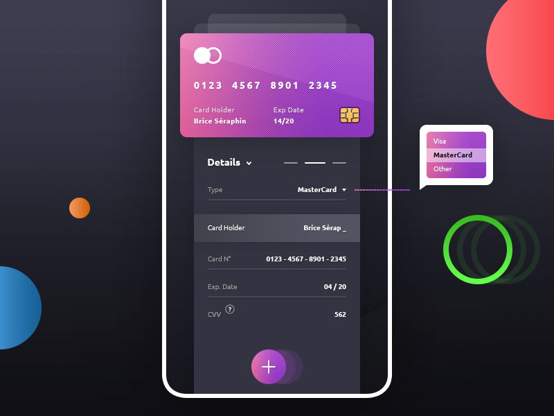 Add Credit Card App preview picture