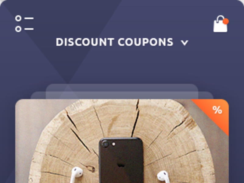 Discount Coupons & Wallet App