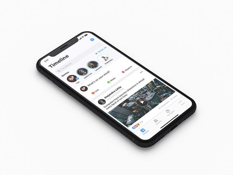 iPhone X free mockup preview picture