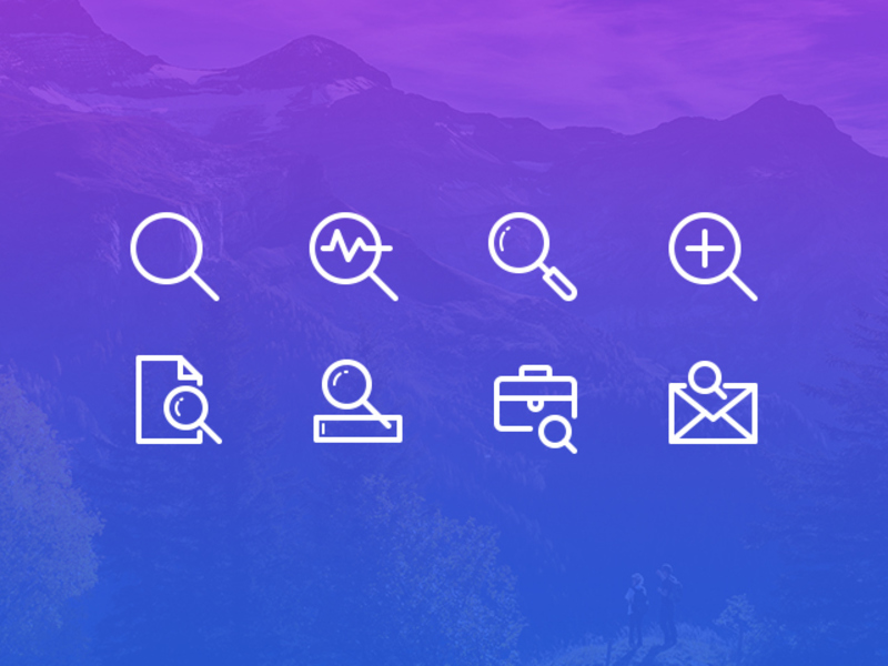 Search Icons Freebie preview picture