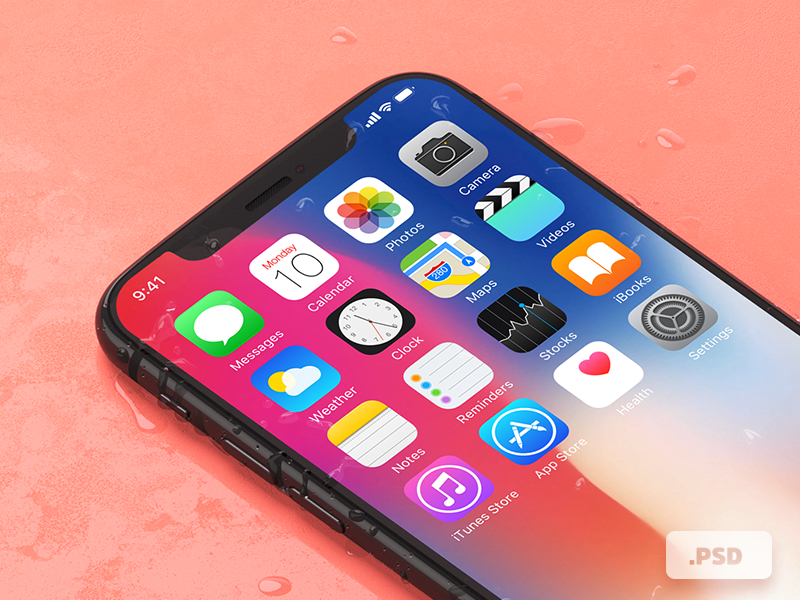Free iPhone X Mockups preview picture