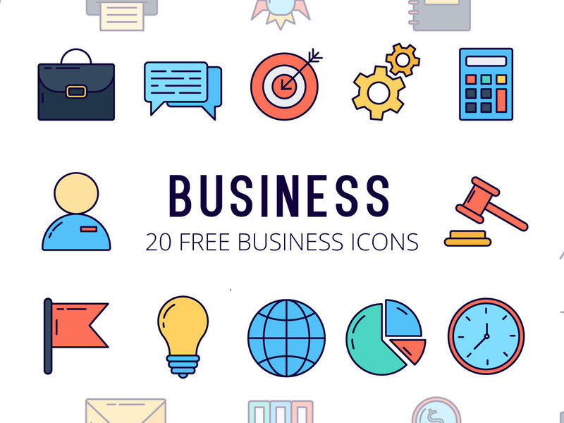 Business - Vector Icon Set preview picture