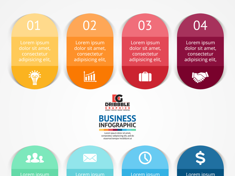 Business Infographics Vector Graphics