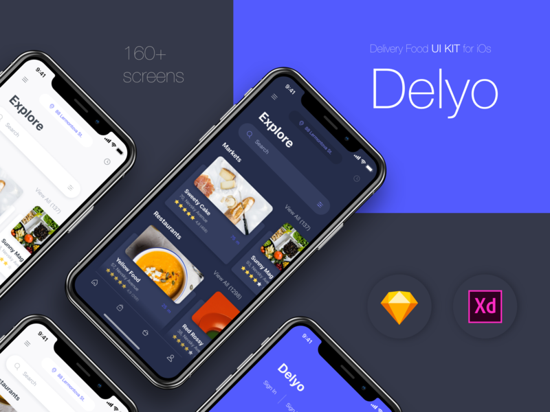 Delyo | Food Delivery App preview picture