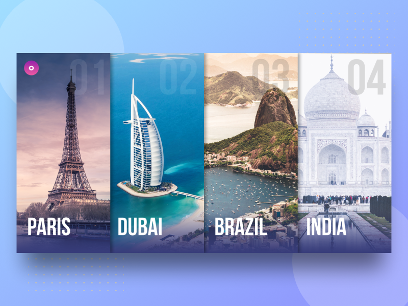Choose Your Destination - PSD