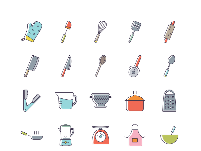 Julia - 50 Cooking Icons