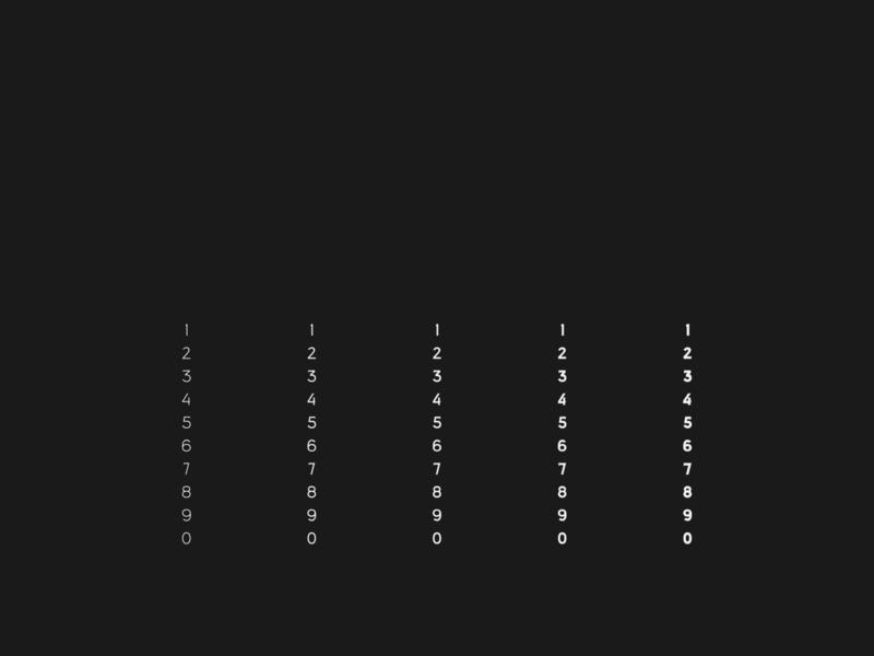 Giallo - A Free Display Typeface