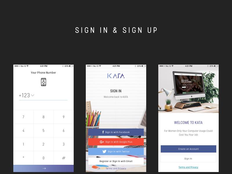 Kata Mobile UI Kit