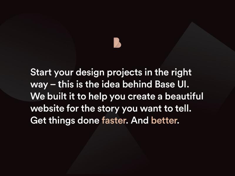 Base UI Sketch Framework