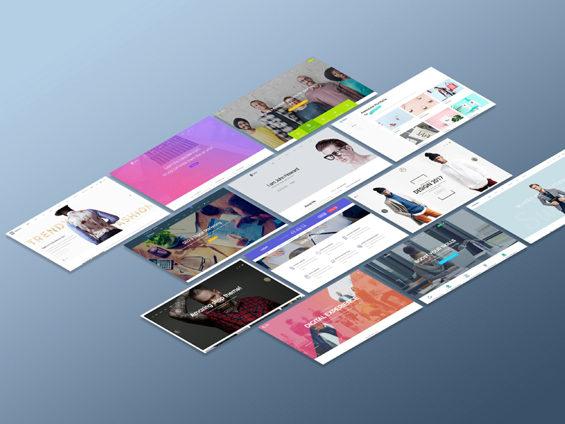 Perspective Website Mockup by madbrains preview picture