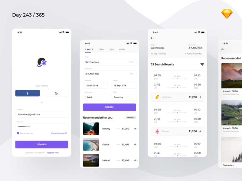 Flight Booking App preview picture
