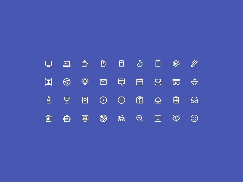 Tiny Insane Icons [SKETCH, AI[