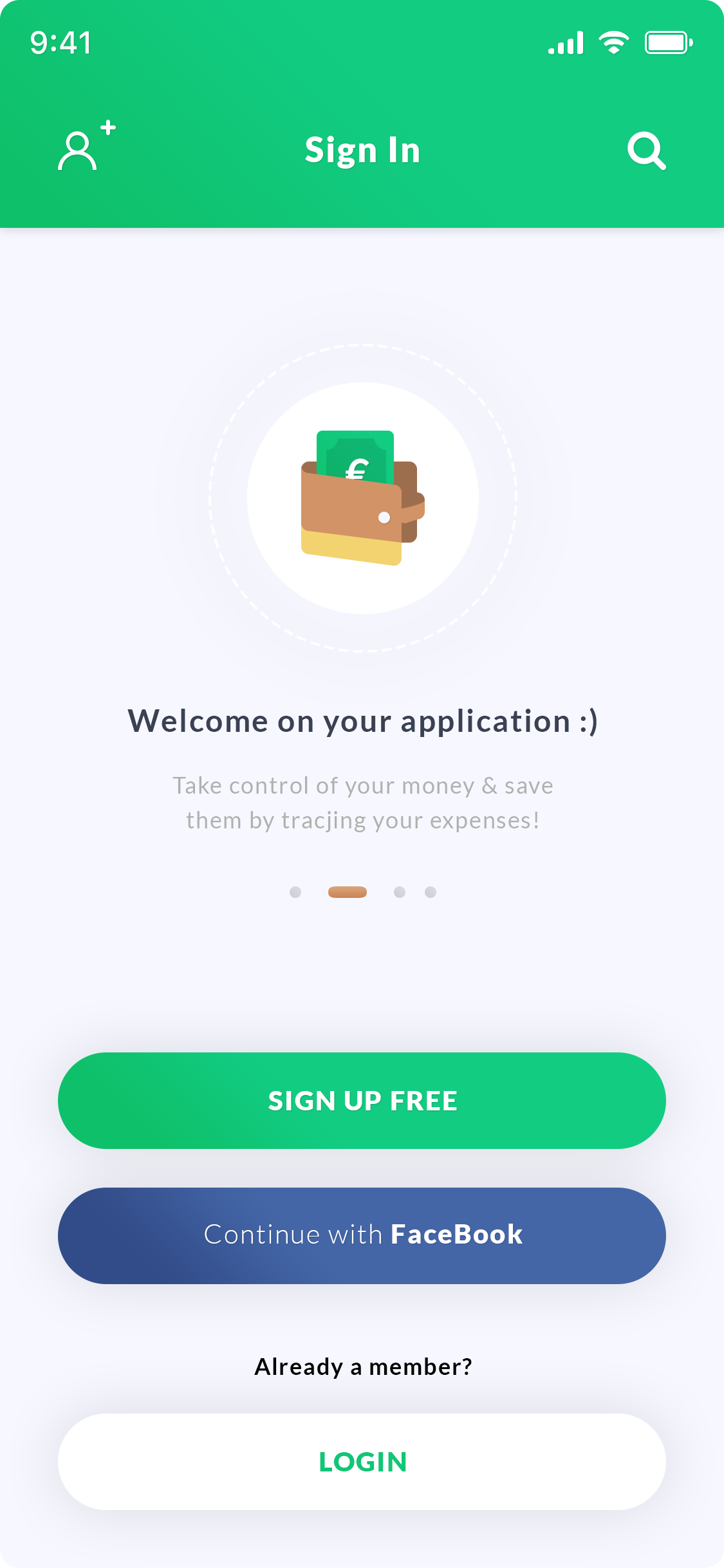 Sign In - Login App