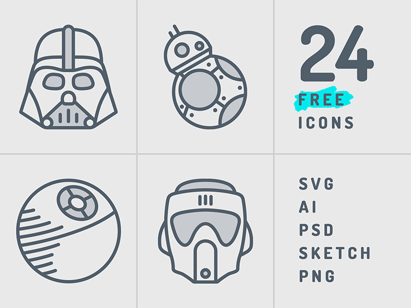 Starwars Icons Set