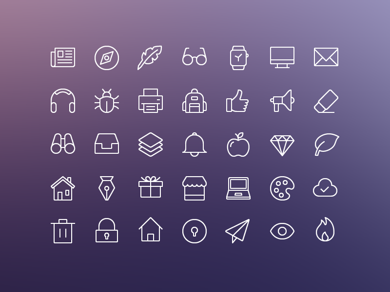 iOS Edge | Free Icon Set preview picture