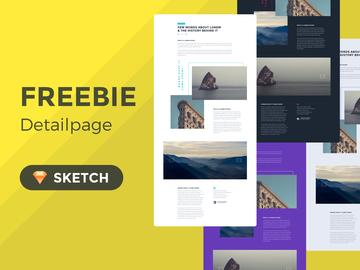Concept Detailpage Freebie