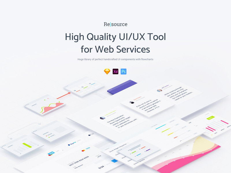 Resourсe | UI/UX Tool for Web Services preview picture