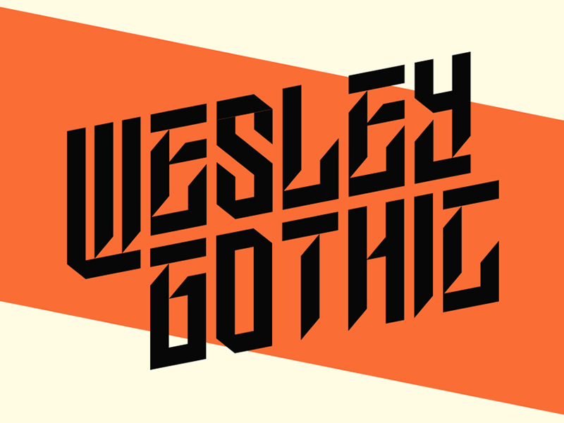 Wesley Gothic | Free Font preview picture
