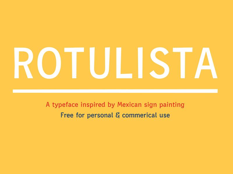 Rotulista— Free Font