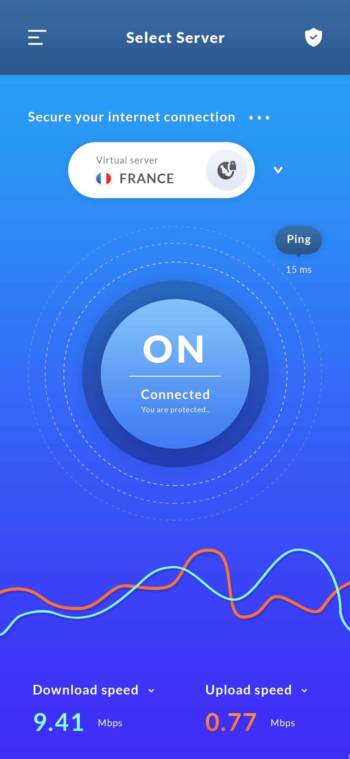 VPN App UIX