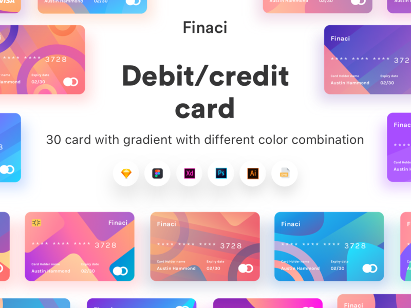 Finaci Financial debit/credit ui card preview picture