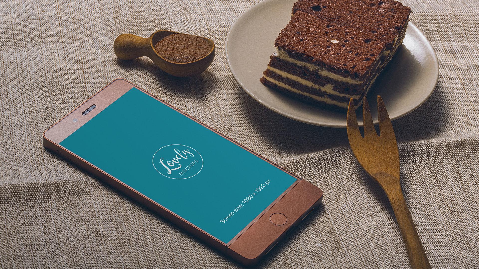 Smartphone Mockup Freebie