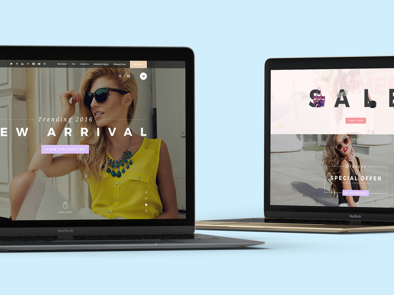 Yucca - Fashion Store PSD Template