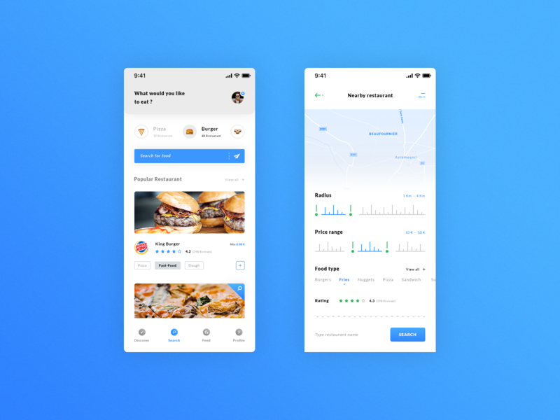 Food - iOS App preview picture