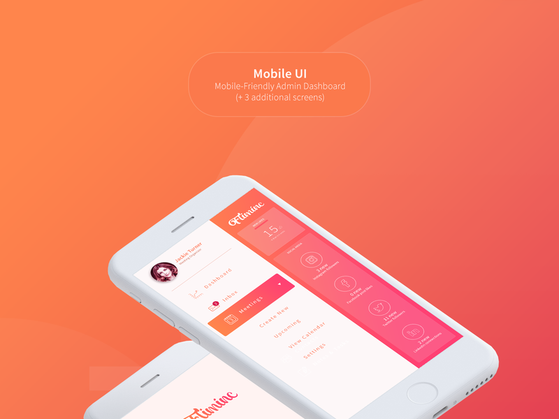 Fliminc - Admin Dashboard UI