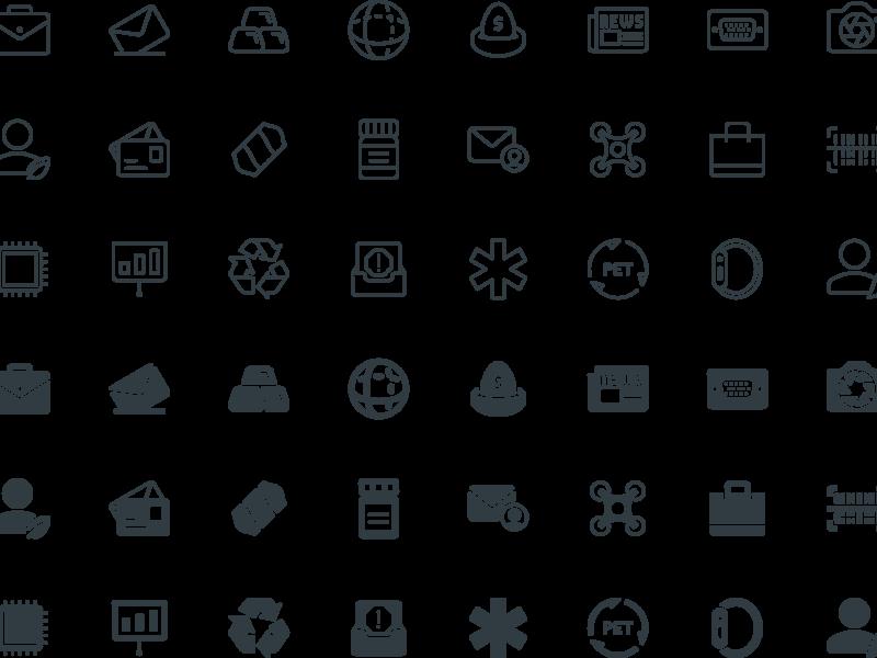 300 Free Icons
