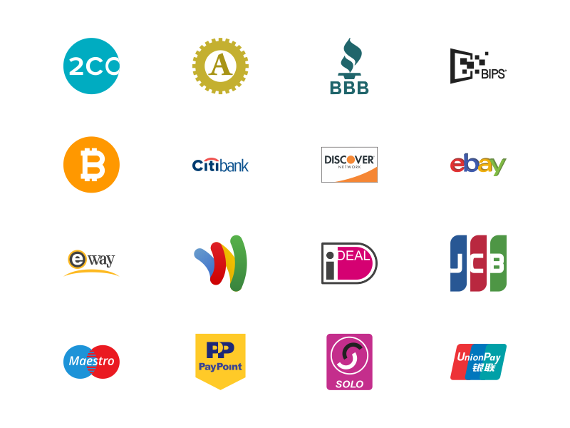 FREE Payment Methods Icon set by Iconbunny