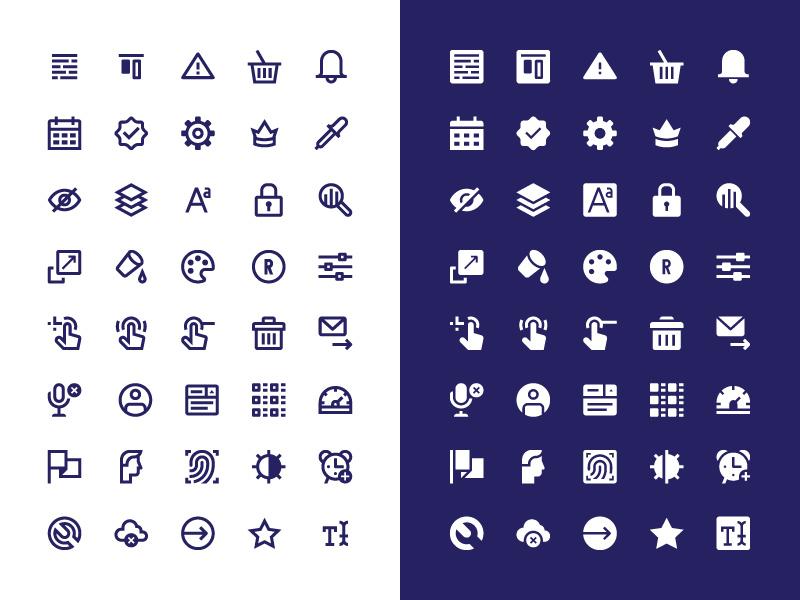 248 Interface icons — Free icon set