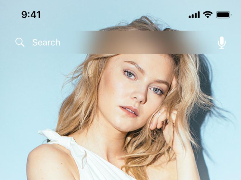 Holo Music UI Kit Light Freebie