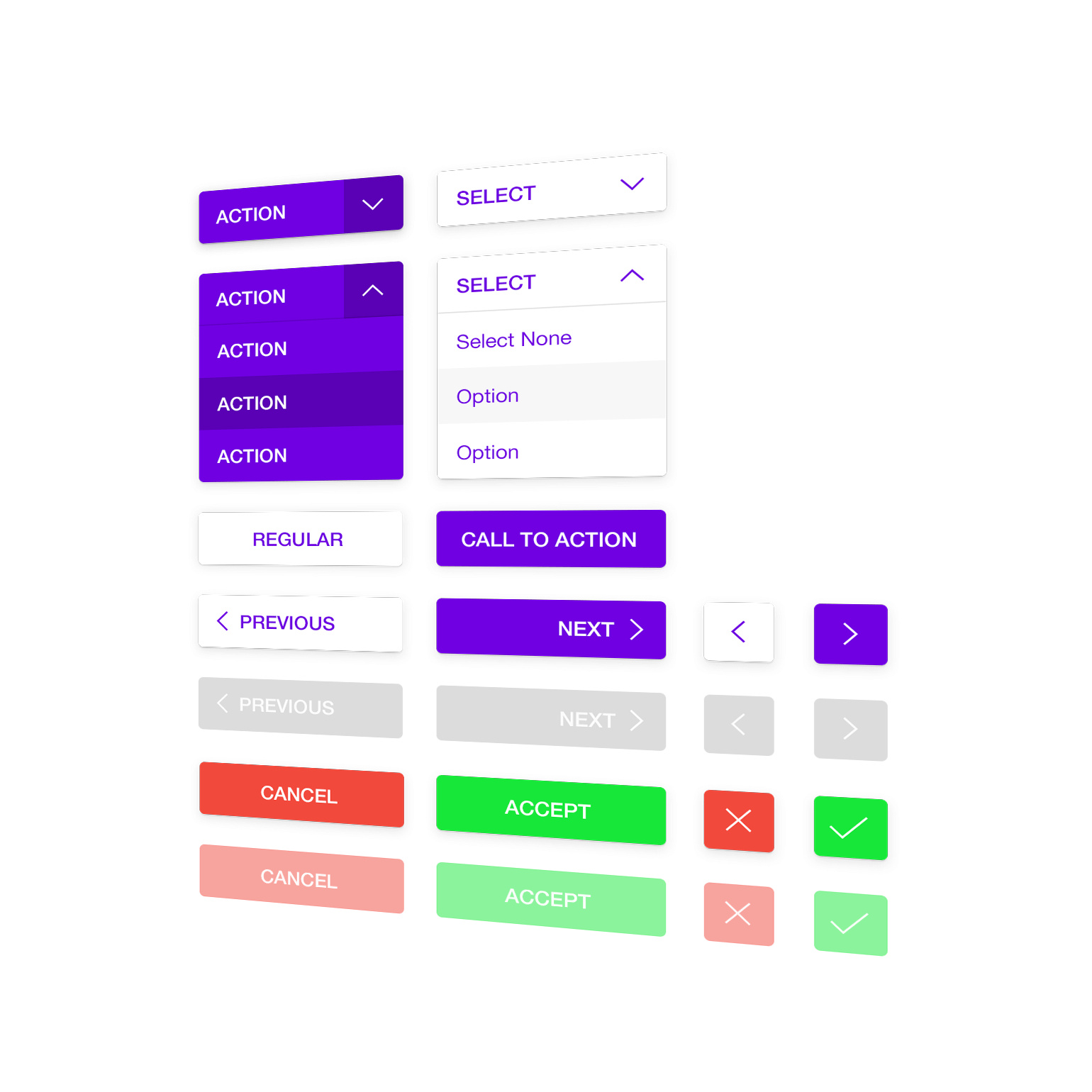 Web Buttons UI Kit