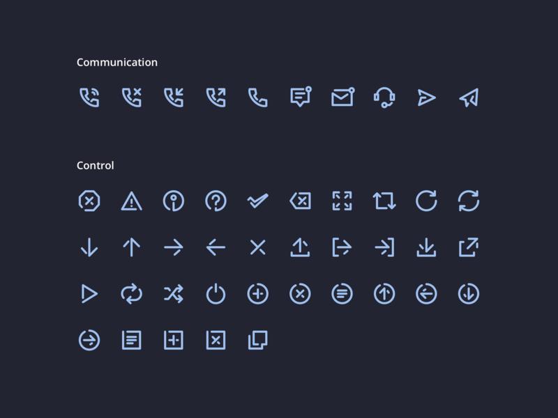 Unicons Icon Set!  200 Vector line icons.