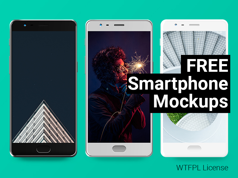 Smartphone Mockups Freebie preview picture