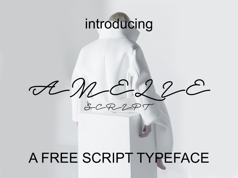 Amelie - Free Font preview picture