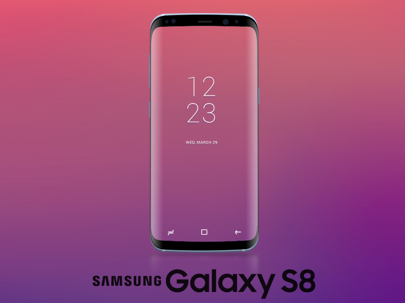 Samsung Galaxy S8 Mockup preview picture