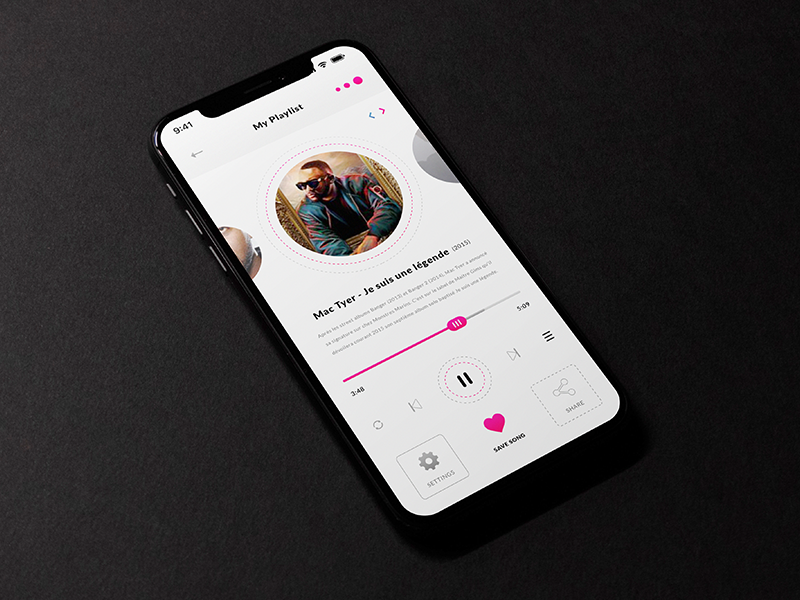 Music Player App preview picture
