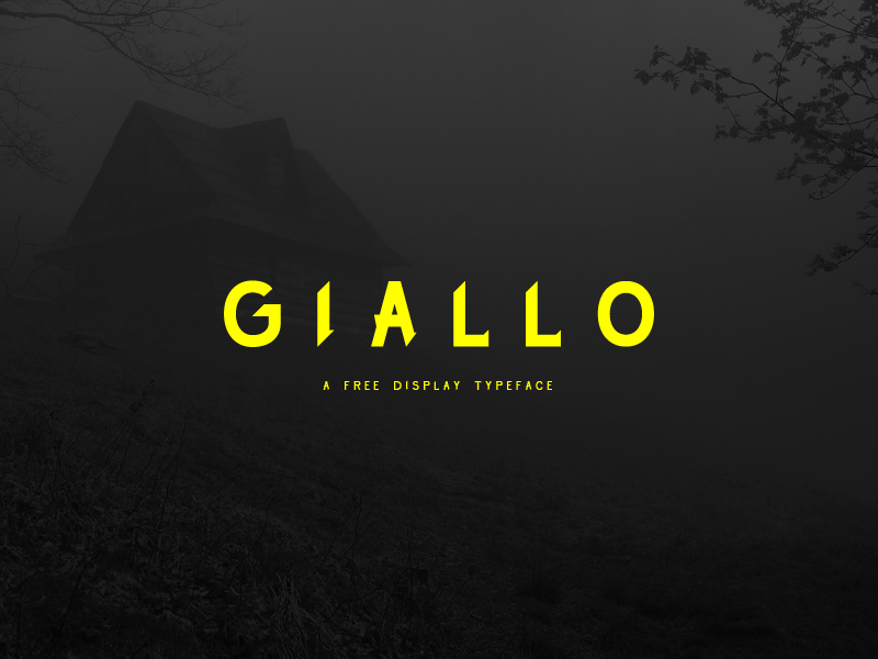 Giallo - A Free Display Typeface preview picture