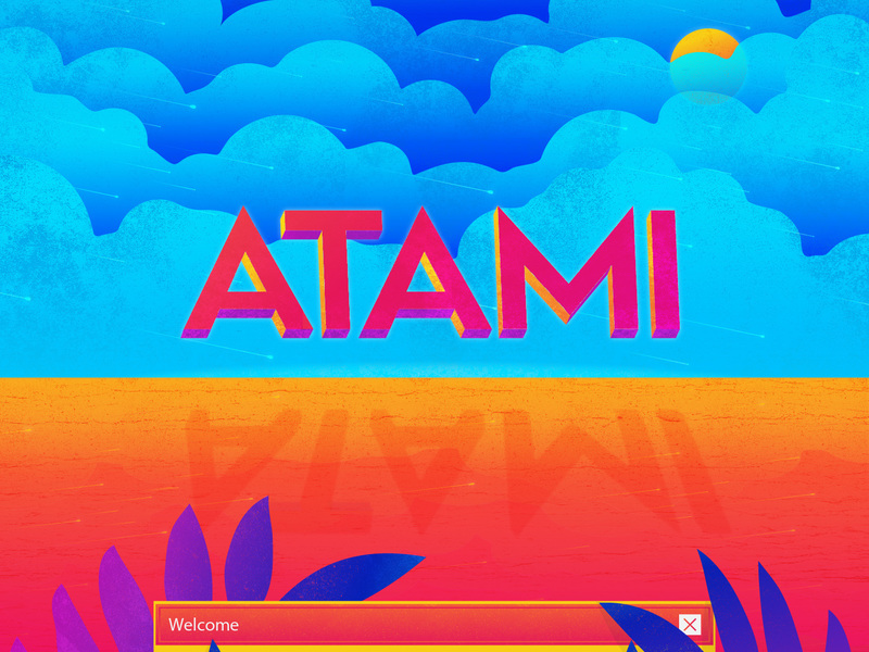 Atami - Free Typeface preview picture