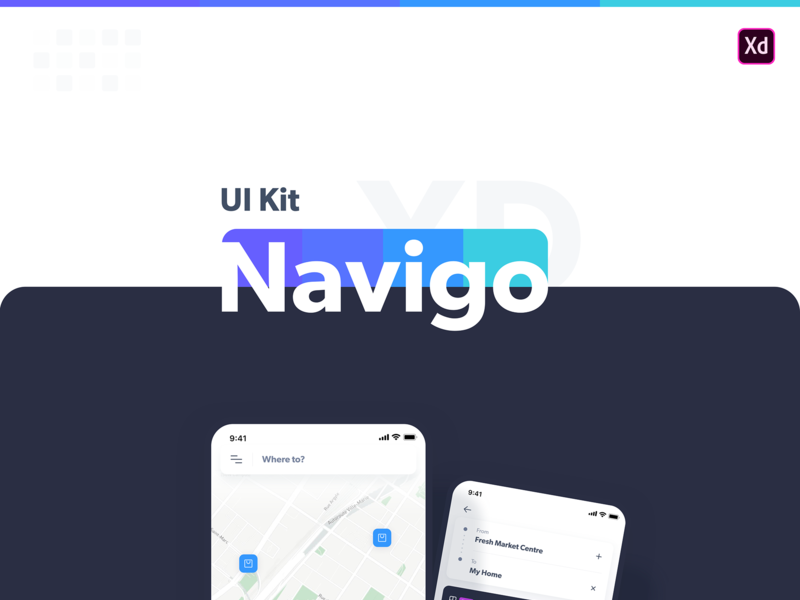 Navigo free iOS UI kit