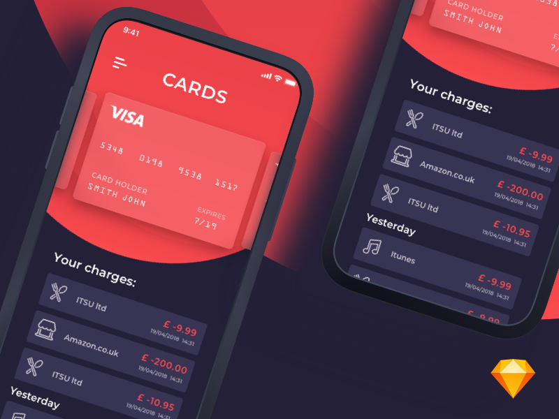 Card App preview picture